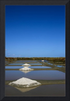 Salines in Brittany-France
