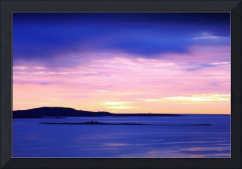Dawn Sky over the Schoodic Peninsula