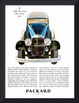 Vintage Classic Automotive Poster #81
