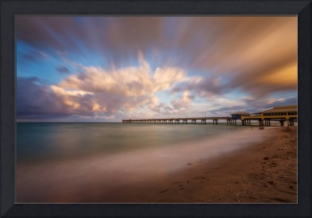 Dania Beach Pier at Sunset