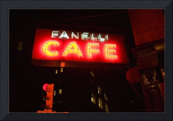 Fanelli Cafe, New York City