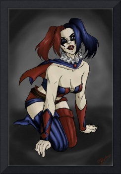 Harley Quinn Pin Up