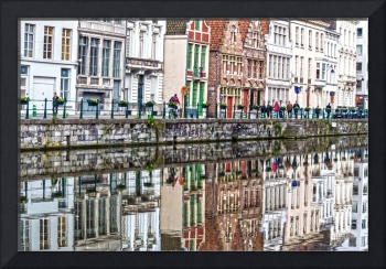Colorful Reflections in Ghent