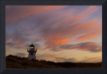 Covehead Lighthouse At Sunset, Prince Edward Islan