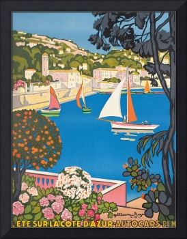 Summer on the Cote d'Azur