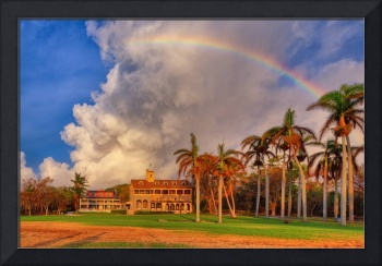Rainbow over the Deering Estate