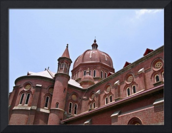 Cathedral in Lahore Pakistan View 2