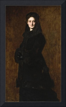 Jean-Jacques Henner - Portrait of Madame Paul Duch