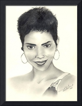 drawing halle berry