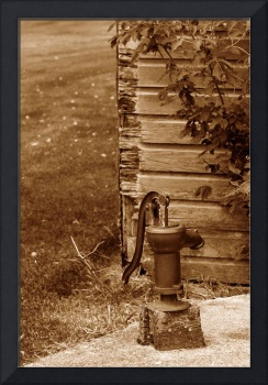 Antique Water Pump