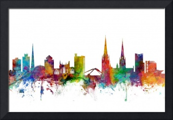 Coventry England Skyline