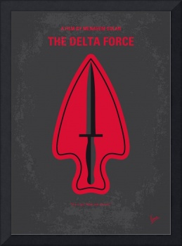 No493 My The Delta Force minimal movie poster