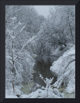 Snowy Country Brook