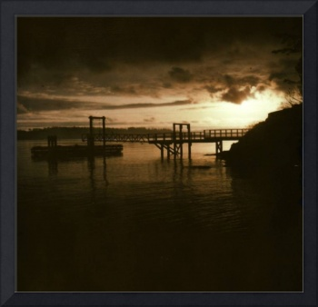 Polaroid- Dock & Sunrise