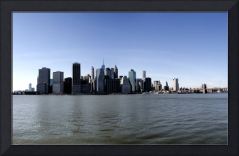 Lower Manhattan, NYC Skyline Panorama