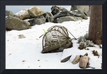 Rustic lobster trap - New England