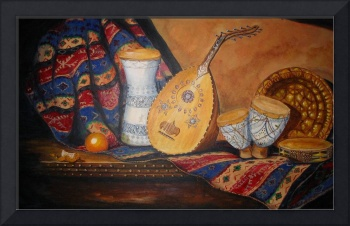 'Still Life with Arabian Oud'