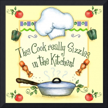 This Cook Really Sizzles