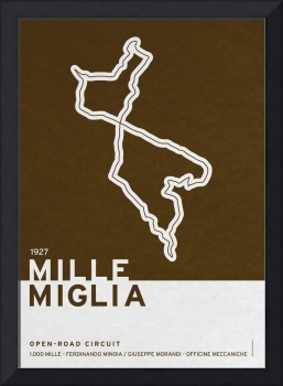 Legendary Races - 1927 Mille Miglia