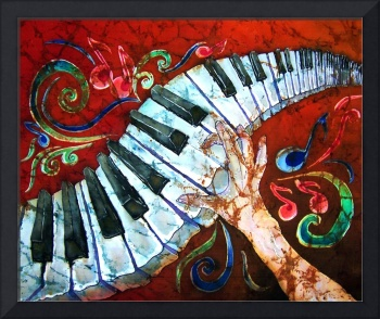 Music - Crazy Fingers - Piano Keyboard
