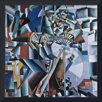 The Knife Grinder, 1912-13 (oil on canvas)