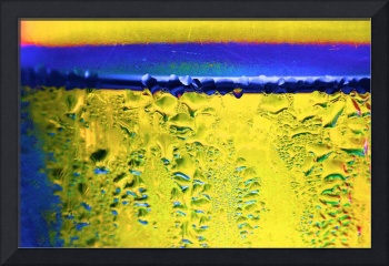Condensation Abstract Yellow