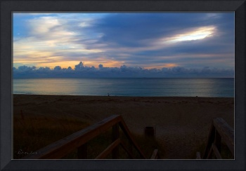 Seascape Dawn Morning Splendor Juno Beach Florida