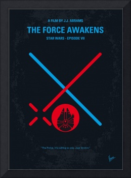 No591 My STAR WARS Episode VII THE FORCE AWAKENS m
