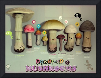 power up mushrooms
