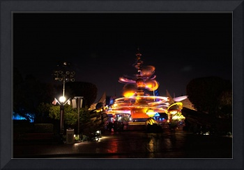 Disneyland - Tomorrowland Entrance HDR