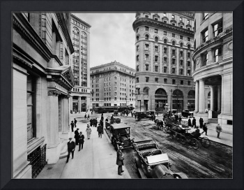 Montgomery and Market St, c. 1909 San Francisco