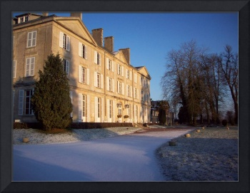 Chateau in winter