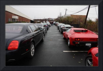 Exotic Car Line Up