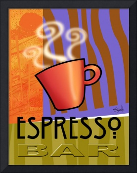 Steaming Cup of Espresso