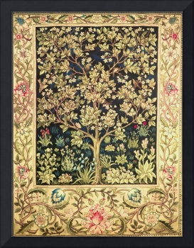 William Morris Tree Of Life Vintage Pre-Raphaelite
