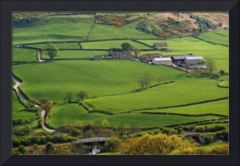 Farmland Of North York Moors National Park, Englan