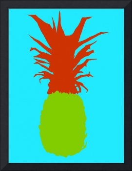 Pineapple green red blue (c)