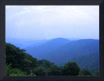 The Smokies from the Blue Ridge Parkway