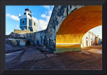 Lighthouse  in Fort El Morro