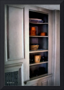 The Painted Pine Cupboard