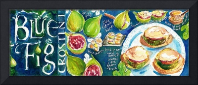 Blue Fig Crostini by Shirley Ng-Benitez