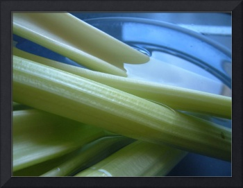 celery in a blue bowl on its own 1