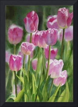Pink Tulip Painting