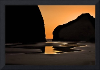 Reflections in Sand and Water