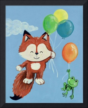 Fly Away Forest Animals - Fox and Frog