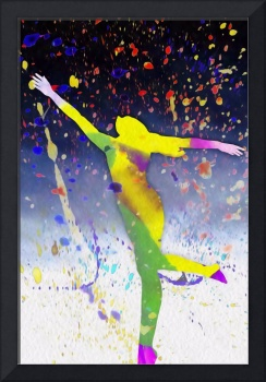 Colorful Dancing Nude