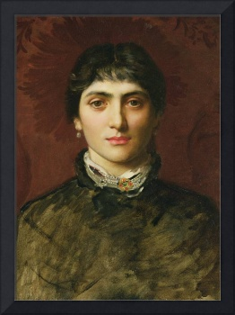 Portrait of a Woman with Dark Hair