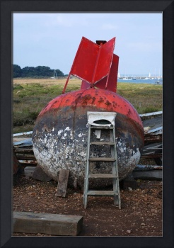 buoy high and dry