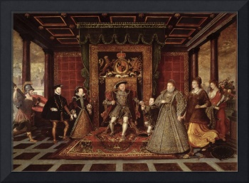 The Family of Henry VIII: An Allegory of the Tudor
