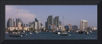 SAN DIEGO HARBOR LONG VIEW